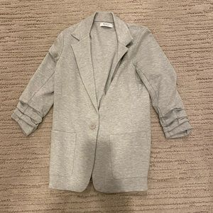 Bailey 44 Jane 1 button grey jacket large
